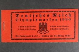 Deutsches Reich, MiNr. MH 42.1, Postfrisch / MNH - Markenheftchen