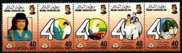 Brunei Nº 477/81 En Nuevo - Brunei (1984-...)