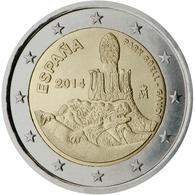 España 2014 2 € Euros Conmemorativos UNESCO Parque Güell Gaudí - Monete