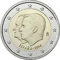 España 2014 2 € Euros Conmemorativos J Carlos I Felipe VI Cambio  Jefatura Est - Monete