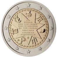 Grecia 2014 2 € Euros Conmemorativos   Islas Jónicas - Monete