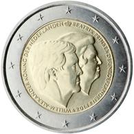 Holanda 2014 2 € Euros Conmemorativos  Guillermo-Alejandro Reina Beatriz - Monete