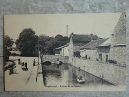 GUYANCOURT           ENTREE DE LA FERME - Guyancourt