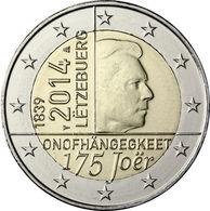 Luxemburgo 2014 2 € Euros Conmemorativos 175 Av Independencia - Monete