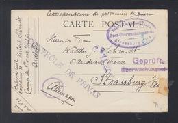 Correspondence De Prisonniers De Guerre Intene Civil  Camp De Viviers 1918 - Storia Postale