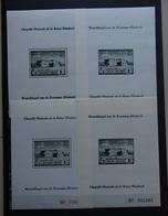BELGIE  1941   Blokken 13 - 14  /  PR  45 - 48    Postfris **   Zie Foto - Blocs 1924-1960