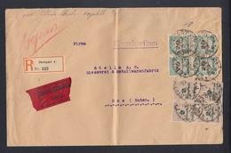 Dt. Reich Expresbrief Stuttgart Nach Oos - Deutschland