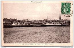 35 SAINT MALO - Le Brittany Et Le Dinard à Quai --- - Saint Malo
