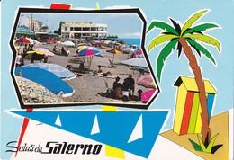 0447 -  SALUTI DA SALERNO - VEDUTA - Salerno