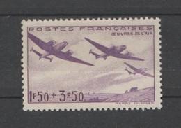 FRANCE / 1942 / Y&T N° 540 ** : Œuvres De L'Air X 1 - Unused Stamps