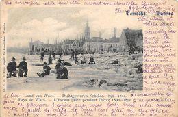 BB131 Temsche Land Van Waes Dichtgevroren Schelde 1890-91 - Temse