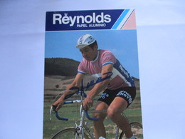 Cyclisme Photo Dedicacee Dominique Arnaud - Ciclismo