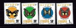 Ethiopia 1357-60 MH 1993 Set - Ethiopia
