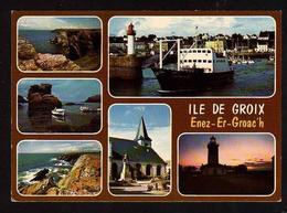 56 GROIX    Carte Multi-vues De L Ile De Groix - Groix