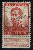 118  Obl Relais  Heusden (Limb.)  + 15 - 1912 Pellens