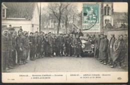 OCHY-AUX-BOIS Environs D'Arras, Zouaves 1914-1915 Cancellation LE HAVRE - France