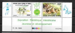 PA - 1985 - 218A**MNH - Philesafrique à Lomé - Komoren (1975-...)