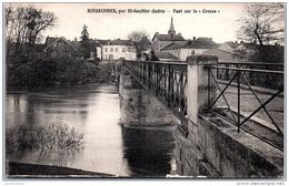 36 RIVARENNES - Pont Sur La Creuse - Andere Gemeenten