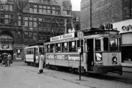 Aix La Chapelle (Allemagne) 11 Mai 1951 - Tramway D'Aix La Chapelle - Motrice N°6223 Sur La Grand Place - Aachen