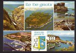 56 ILE DE GROIX   Carte Multi-vues - Groix