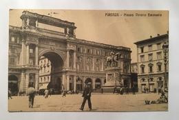 V 11054 Firenze - Piazza Vittorio Emanuele Nel 1913 - Firenze
