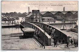 44 SAINT NAZAIRE - Le Pont Tournant - Saint Nazaire