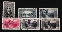 GRAND LIBAN N°153, 170, 171, 173, 174, 175 Oblitérés - Grand Liban (1924-1945)