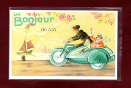 BELGIQUE-CARTE POSTALE ATH - Ath