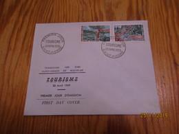 Enveloppe 1er Jour Saint-Pierre Et Miquelon Tourisme 1969 - St.Pierre & Miquelon