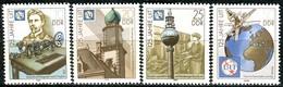 DDR - Mi 3332 / 3335 - ** Postfrisch (A) - 125 Jahre Fernmeldeunion ITU - [6] République Démocratique