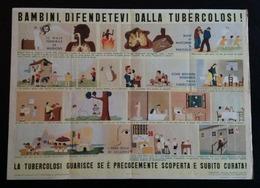 MANIFESTO ANTI TUBERCOLOSI - 1938 - Manifesti