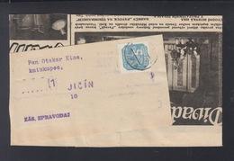 Böhmen Und Mähren Streifband Jicin - Occupation 1938-45