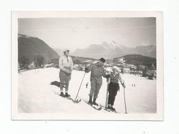 Photographie 38 Isère St Nizier Ski 1930 Photo 6,5x8,8 Cm Env - Lieux