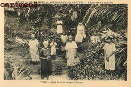 TOGO FORET VIERGE A PALIME SŒURS MISSIONNAIRES NOTRE-DAME DES APOTRES VENISSIEUX LYON RHONE RELIGION AFRIQUE - Togo