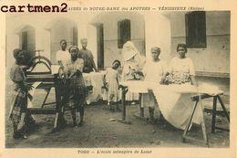 TOGO ECOLE MENAGERE LOME REPASSAGE FER SŒURS MISSIONNAIRES NOTRE-DAME DES APOTRES VENISSIEUX LYON RHONE RELIGION AFRIQUE - Togo