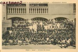 TOGO ECOLE DE LOME SŒURS MISSIONNAIRES NOTRE-DAME DES APOTRES VENISSIEUX LYON RHONE RELIGION AFRIQUE - Togo