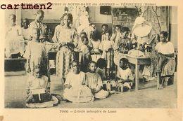 TOGO ECOLE MENAGERE LOME COUTURE SŒURS MISSIONNAIRES NOTRE-DAME DES APOTRES VENISSIEUX LYON RHONE RELIGION AFRIQUE - Togo