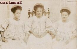CARTE PHOTO : GOLD-COAST GHANA FEMMES FILLES DU CHEF ROI AFRIQUE ETHNOLOGIE ETHNIC AFRICA COIFFURE - Ghana - Gold Coast