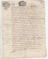 Rhône Blacé 1689 - Manuscripts