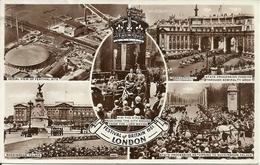 "London (England, U. K.) ""Festival Of Britain 1951"", Festival Site, State Procession, Buckingham Palace, H.M. The King - Altri"