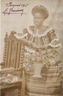 CARTE PHOTO : GOLD-COAST GHANA FEMMES ASHANTI FILLES DU CHEF ROI AFRIQUE ETHNOLOGIE ETHNIC AFRICA COIFFURE - Ghana - Gold Coast