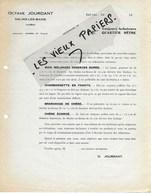 39 - Jura - SALINS-LES-BAINS - Facture JOURDANT - Commerce De Bois - 19?? - REF 124B - France
