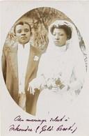 CARTE PHOTO : SEKONDI TAKORADI GOLD-COAST GHANA MARIAGE ASHANTI AFRIQUE ETHNOLOGIE ETHNIC AFRICA COIFFURE - Ghana - Gold Coast