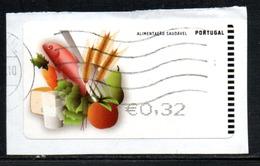 Portugal 2009 ATM-FRAMA - Alimentaçao Saudavel - 0.32 € - ATM/Frama Labels