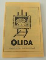 Petit Guide Spectacles De Paris 1965 Vichy état Dumesnil Olida Programme Vintage - Programme