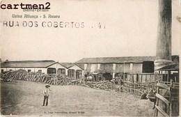 BAHIA USINA ALLIANCA SANTO AMARO BRESIL BRAZIL 1900 SALVADOR DE BAHIA - Salvador De Bahia