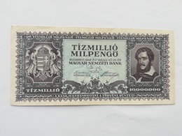UNGHERIA 10000000 PENGO 1946 - Hongrie
