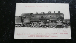 Les Locomotives Françaises - Machine N°45 à Simple Expansion, 2cyl., Tiroirs Cylindriq. Et Surchauffe à 4 Essieux Couplé - Equipo
