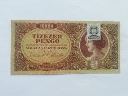 UNGHERIA 10000 PENGO 1945 - Hongrie