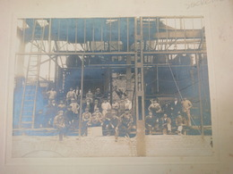 PHOTO SUCRERIE ERSTEIN CONSTRUCTION OUVRIER BABCOK GREEN - Métiers